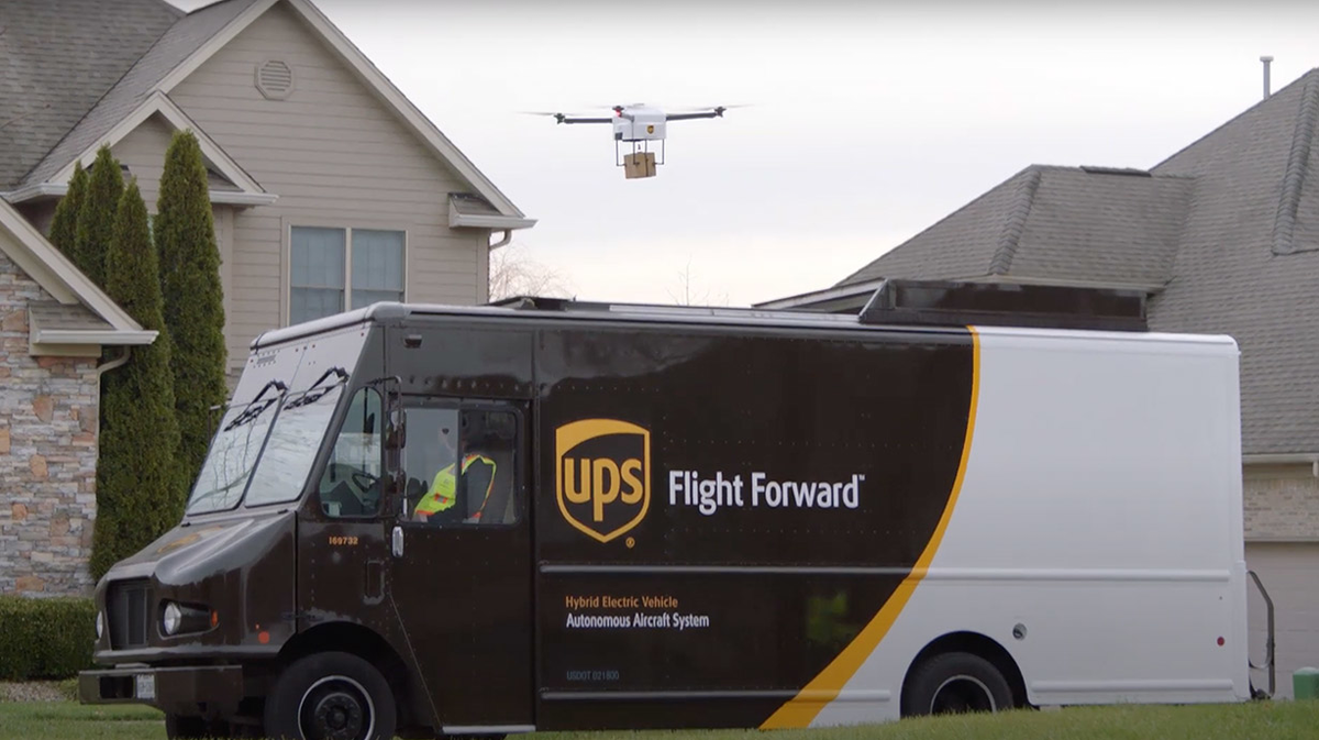 Verizon, UPS, Skyward to Deliver Retail Products by Drone